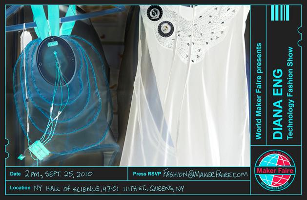 Diana Eng's Maker Faire Fashion Show Q&A