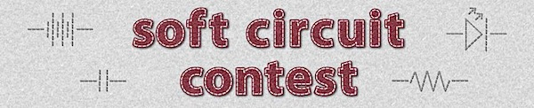 Instructables soft circuit contest