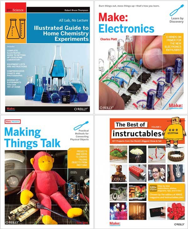 Maker Faire Ebook Deal of the Day: four Make: ebooks@.99 each