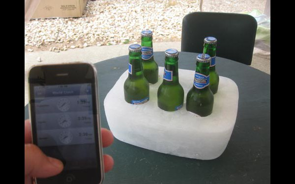 How-To: Cast a solid ice beer caddy
