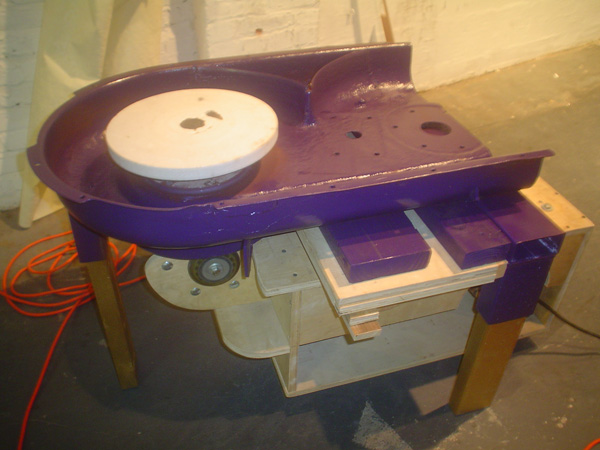 Potter's Lawnmower Wheel maker interview