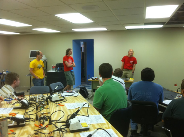 QC Co-Lab grand opening & Midwest hackerspace meetup