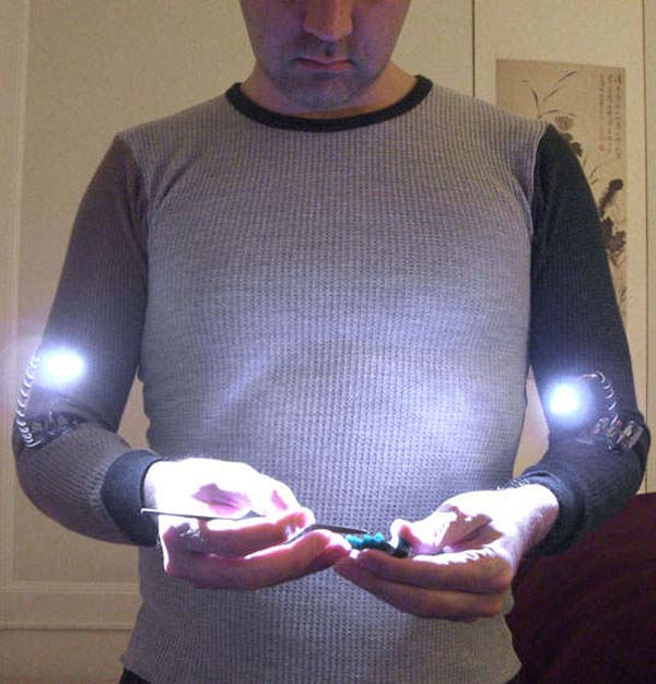 Hand lights — Cool Tools contest winner