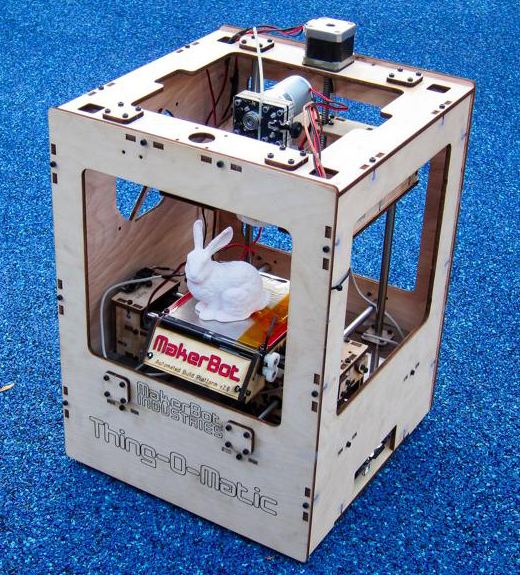 Thing-O-Matic announced at Maker Faire NYC