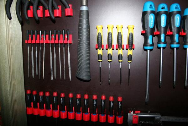 Printable tool clips