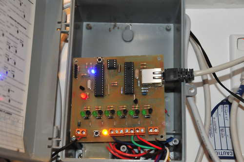 Networkable watering system controller