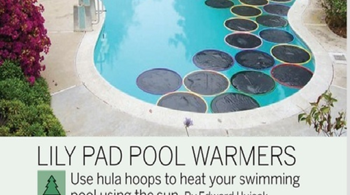Weekend Project: Lily Pad Pool Warmers (PDF)   Make: