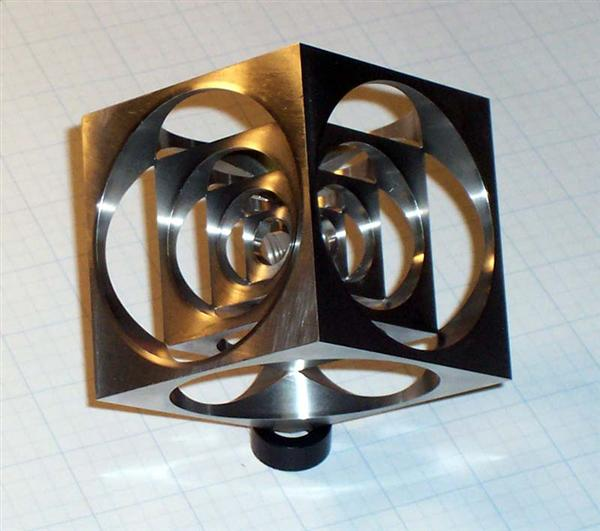 The Turner's Cube: Classic machinist's exercise