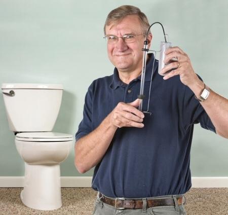 DIY running toilet alarm