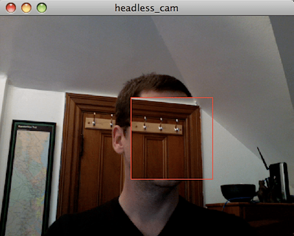 Codebox: Lose your head with OpenCV