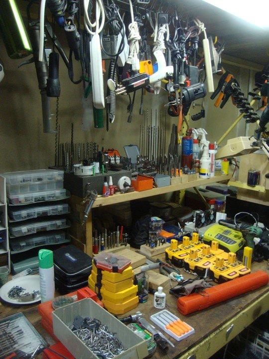 Bradjustinen's workshop