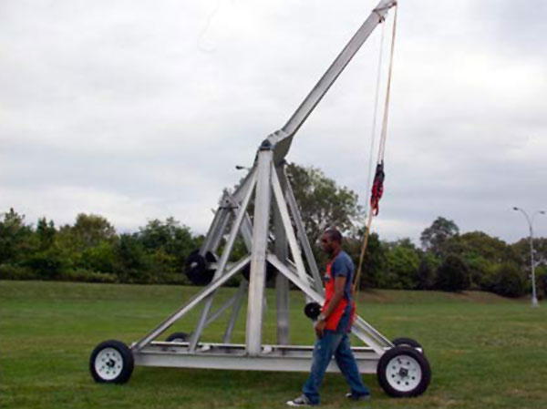 This weekend: Catapult a pumpkin at NYSCI