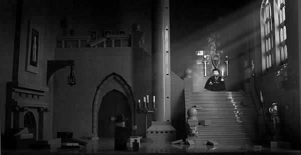 Classic Castle Dracula Lego vignette