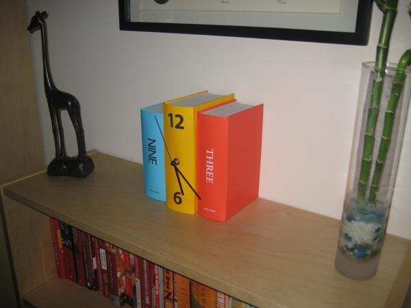 Book clock!