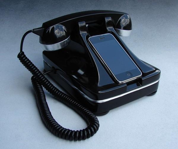 Retro iPhone handset