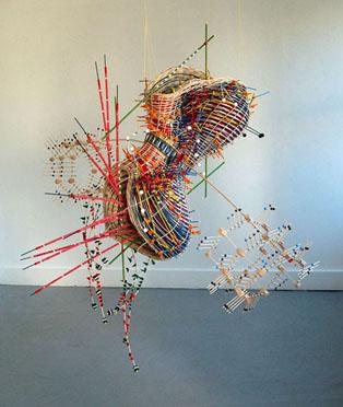 Nathalie Miebach's Woven Data Sculptures