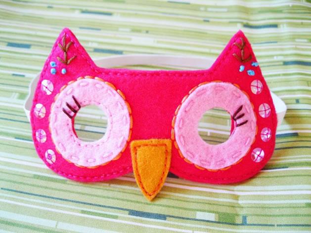 Adorable Girl's Owl Costume