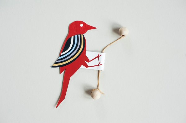 How-To: Papercraft Oscillating Woodpecker Toy
