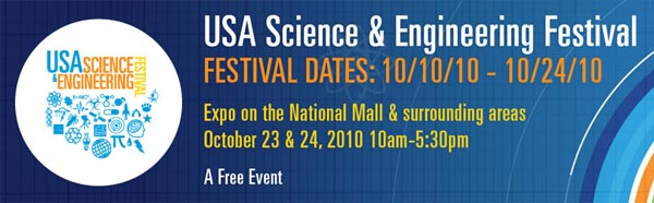 Science and Engineering Festival on The Mall this weekend