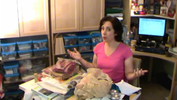 Sister Diane's Problem With Putting Away Her Craft Supplies