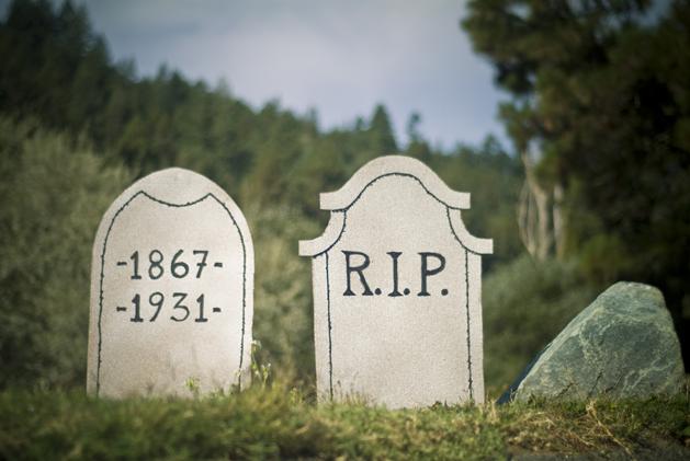 How-To: Make Halloween tombstones