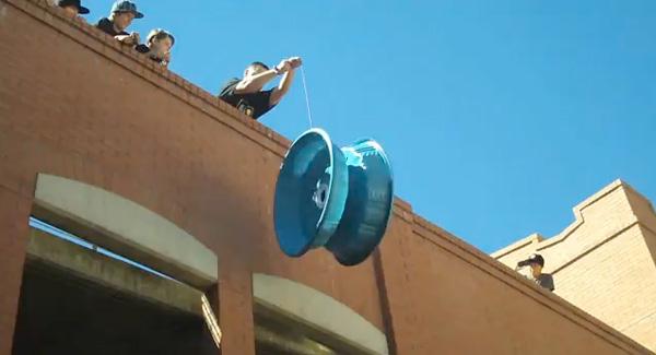World's largest handheld yo-yo