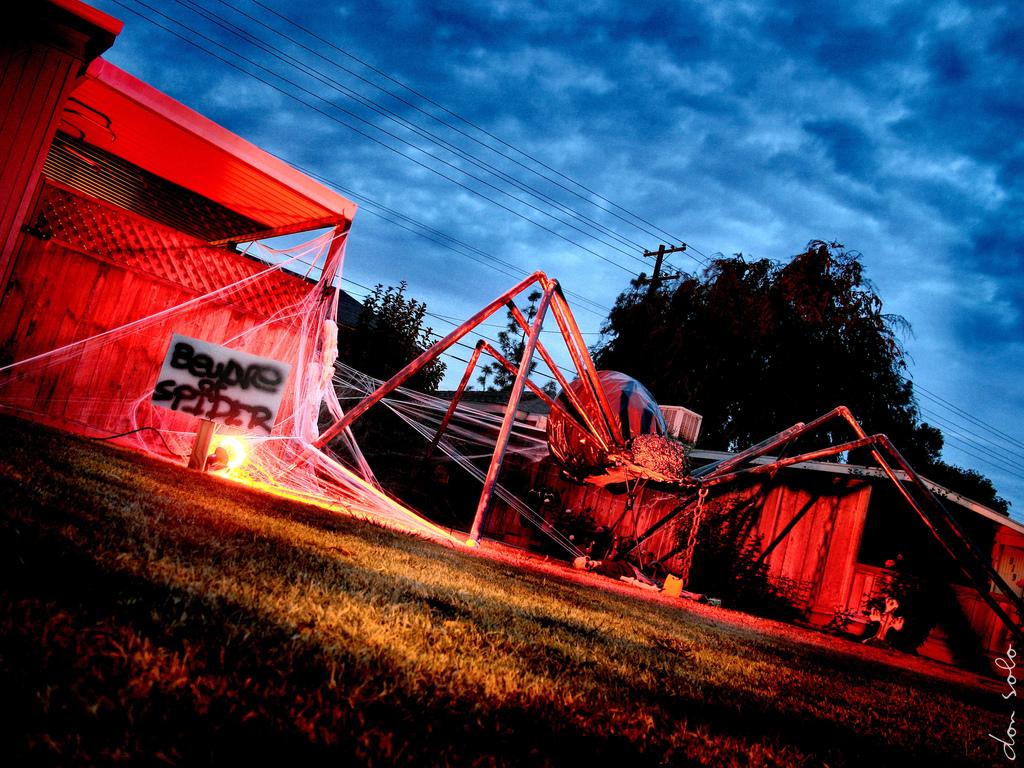 PVC giant spider