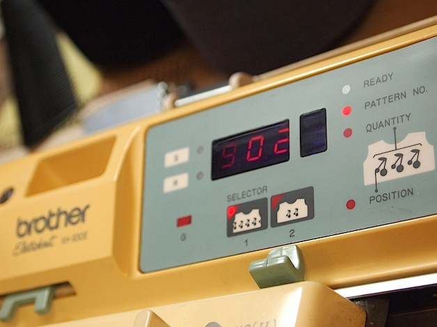 How-To: Hacking the Brother KH-930e knitting machine