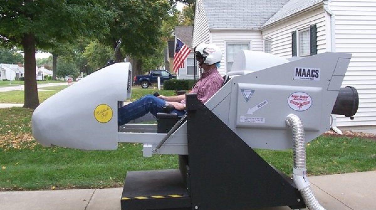 diy flight simulator motion rig make