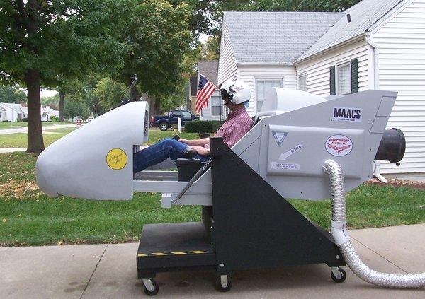 DIY flight simulator motion rig