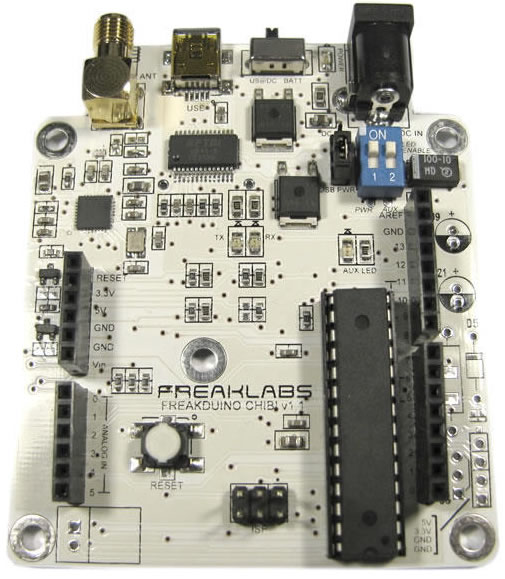 Open source 802.15.4 protocol stack and Arduino-compatible board