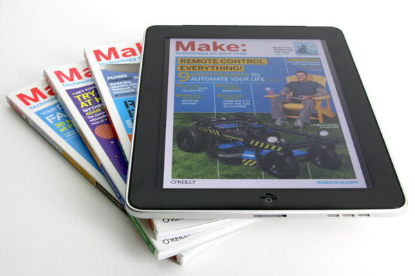 Announcing the MAKE magazine eBook Archive!
