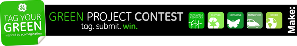 Green Project Contest — Tag Your Green!
