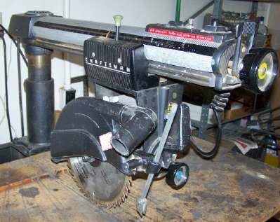 All about the radial arm saw