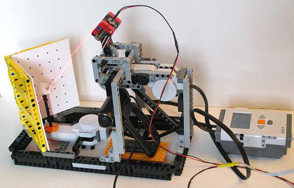 Lego n' laser 3D scanner