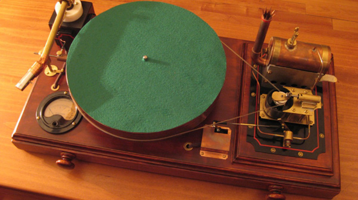Steam-powered record player | Make: