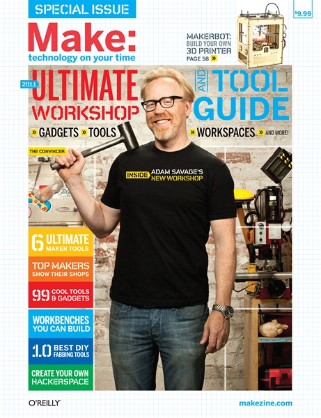 Where to find Make: Ultimate Workshop and Tool Guide 2011