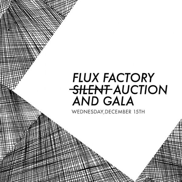 Flux Factory's seasonal not-so-silent auction