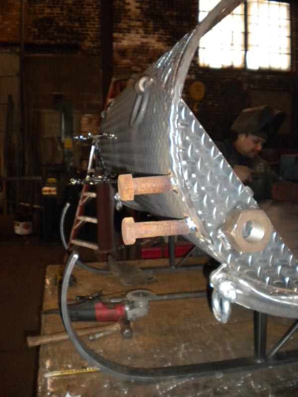 Craftsman and MAKE build the Ultimate Santa's Sleigh