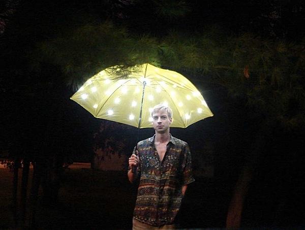 How-To: LED umbrellas