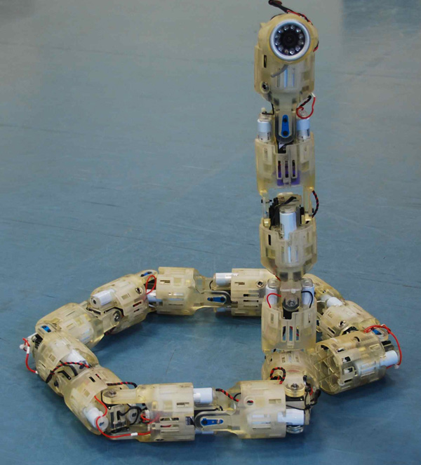 Mil-spec snake robot