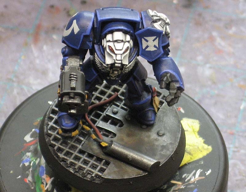 How-To:  Paint a Space Marine Terminator