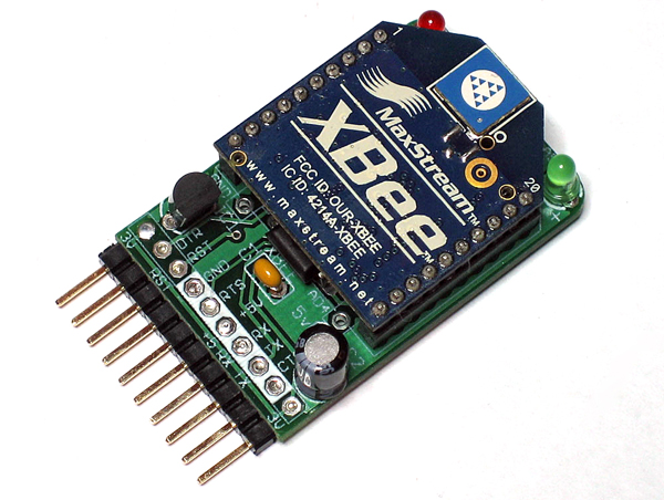 In the Maker Shed: XBee & Xbee Adapter kit bundle