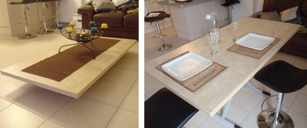 DIY Convertible Table