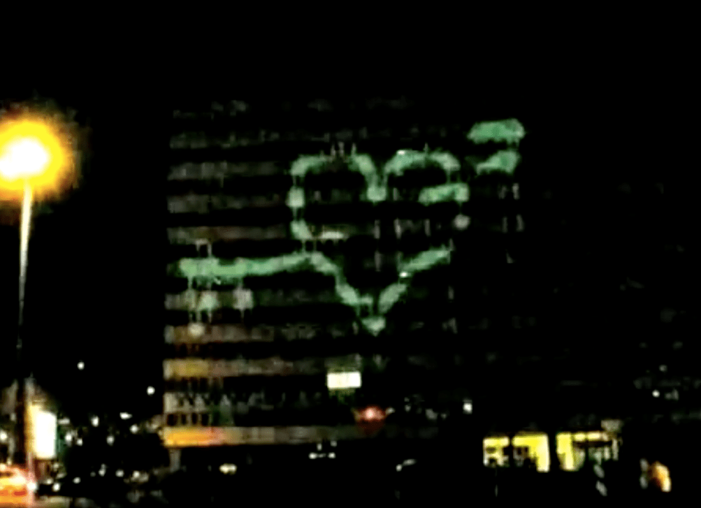 Laser Graffiti – Laser Tag with GRL Vienna
