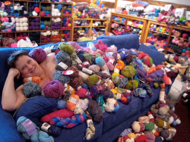 Checking In with the World's Largest Yarn Stash