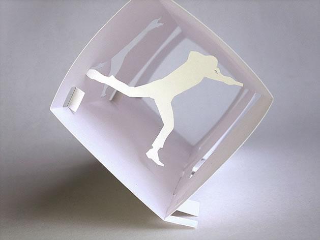 """""""Inception"""" Paper Sculpture"""