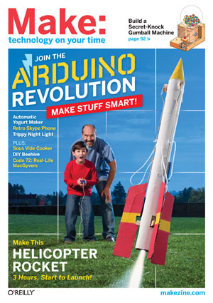 Build a  Heli-Rocket from MAKE Volume 25
