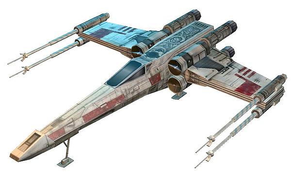 Star Wars papecraft models