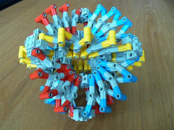 Lego Hoberman sphere